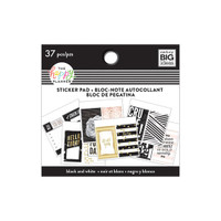 Me and My Big Ideas - The Happy Planner - Tiny Sticker Pad - Black & White (Exclusive)
