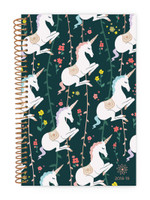Bloom Daily Planners - 2018-2019 Soft Cover Daily Planner - Unicorns