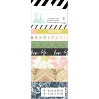 Heidi Swapp - Washi Tape Rolls - Emerson Lane - Set of 8