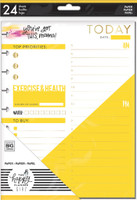 The Happy Planner - Me and My Big Ideas - Classic Refill Note Paper - Full Sheet - Super Mom
