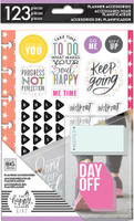 Me and My Big Ideas - The Happy Planner - Mini Accessory Pack - Healthy Hero