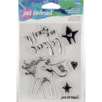 Jane Davenport Artomology Clear Stamps - Unicorn Sparkle