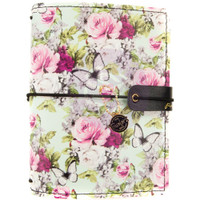 Prima Marketing - Prima Traveler's Journal - Passport Size - Misty Rose