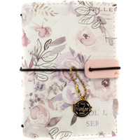 Prima Marketing - Prima Traveler's Journal - Passport Size - Lavender Frost