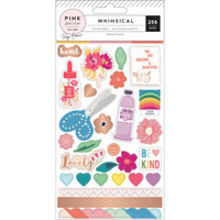 Pink Paislee - Paige Evans Whimsical 4-Page Sticker Book