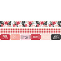 Carpe Diem - Simple Stories - Kissing Booth Washi Tape - Set of 3