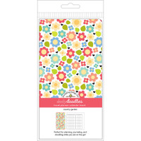 Doodlebug Designs - Traveler Notebook Inserts - Country Garden - Standard - Daily Doodles (Calendar)