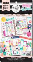 Me and My Big Ideas - The Happy Planner - Value Pack Stickers - Faith Warrior (#1010)