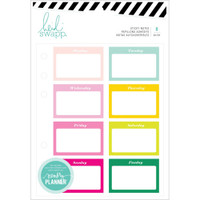 Heidi Swapp - Memory Planner Sticky Notes - Color Fresh