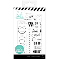 Heidi Swapp - Memory Planner Clear Stamps - Color Fresh, Everyday