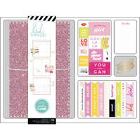Heidi Swapp - Personal Memory Planner Boxed Kit - Pink Glitter