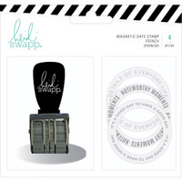 Heidi Swapp - Memory Planner Magnetic Stamp - Color Fresh - Date