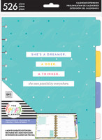 Me and My Big Ideas - The Happy Planner - Dashboard Layout - Six Month Extension Pack - Classic