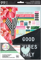 Me and My Big Ideas - The Happy Planner - Good Vibes Only Accessory Pack - Classic - Student