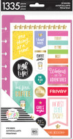 Me and My Big Ideas - The Happy Planner - Planner Basics - Dashboard Stickers