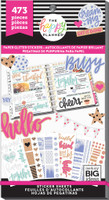 Me and My Big Ideas - The Happy Planner - Value Pack Stickers - Paper Glitter