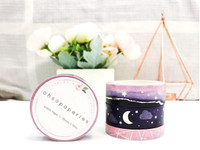 INTERNATIONAL CUSTOMERS - Oh So Paperies - Cosmic Night Washi Tape Collection - Set of 3 - Silver Foil