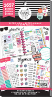 Me and My Big Ideas - The Happy Planner - Value Pack Stickers - Super Mom