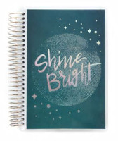 Recollections - Creative Year - Shine Bright Mini Spiral Planner (Horizontal, Dated)