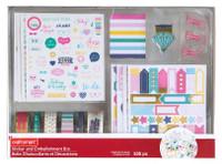 Craft Smart - Basic Sticker & Embellishment Box