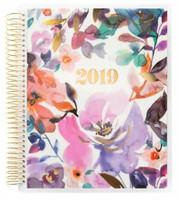 Recollections - Creative Year - Watercolor Diamond Medium Spiral Planner (Hourly, Dated)