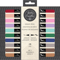 American Crafts - Kelly Creates - Dream Pens - Meadow - Set of 10