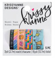 Krissyanne Designs - Washi Tapes - Doodle Chores