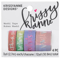 Krissyanne Designs - Washi Tapes - Watercolor
