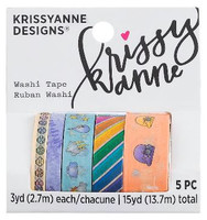 Krissyanne Designs - Washi Tapes - Steve