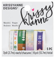 Krissyanne Designs - Washi Tapes - Planner