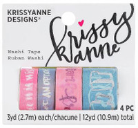 Krissyanne Designs - Washi Tapes - Watercolor Crush