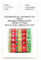 Recollections - Washi Tape - Christmas - Red Reindeer