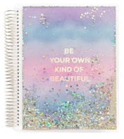 Recollections - Creative Year - Watercolor Shaker Medium Planner (Vertical, Dated)