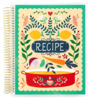 Recollections - Creative Year - Recipe Keepsake Medium Planner (Undated, Meal Planning)
