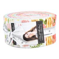 Moda Fabric Precuts Jelly Roll - Lollipop Garden by Lella Boutique