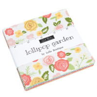 Moda Fabric Precuts Charm Pack - Lollipop Garden by Lella Boutique