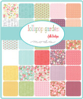 Moda Fabric Precuts Fat Eighth Bundle - Lollipop Garden by Lella Boutique