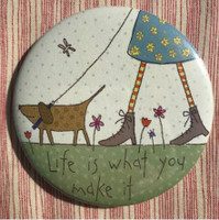 Hatched & Patched - Mirror - Life is What You Make It
