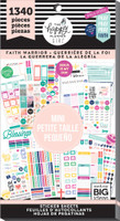 Me and My Big Ideas - The Happy Planner - Value Pack Stickers - Faith Warrior - Mini