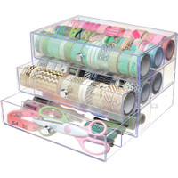 SECONDS/SLIGHT DAMAGE - Washi Tape Storage Cube