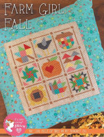 It's Sew Emma - Farm Girl Fall Cross Stitch Pattern by Lori Holt