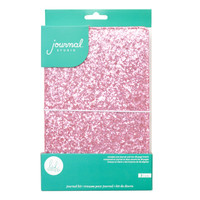 American Crafts - Heidi Swapp - Journal Studio Kit - Pink Glitter