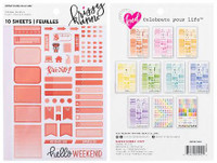 Krissyanne Designs - Sticker Book - Functional Planner - Bold