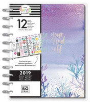 The Happy Planner - Me and My Big Ideas - 2019 BIG Happy Planner - Mermaidesque (Dated, Lined Vertical)