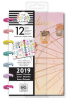 The Happy Planner - Me and My Big Ideas - 2019 Mini Happy Planner - Life is A Party (Dated, Lined Vertical)
