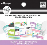 Me and My Big Ideas - The Happy Planner - Tiny Sticker Pad - Healthy Hero Monthly