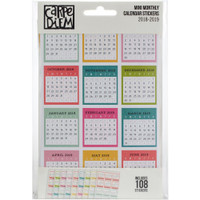 Carpe Diem - Simple Stories - Planner Mini Stickers