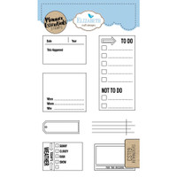 Elizabeth Craft Designs - Clear Planner Stamps - Reminders