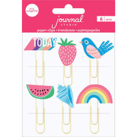 American Crafts - Journal Studio - Paper Clips - Amy Tangerine