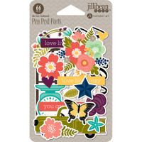 Jillibean Soup - Garden Harvest Pea Pod Parts - Die-Cuts